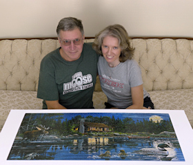 Rich and Zhanna and Moose/Loon Lake Puzzle