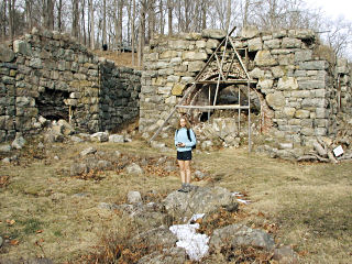 Zhanna and iron furnaces