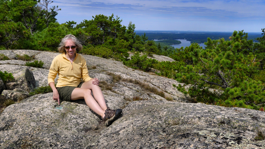 "Tri-station ""ROBINSON"" on Acadia Mountain"