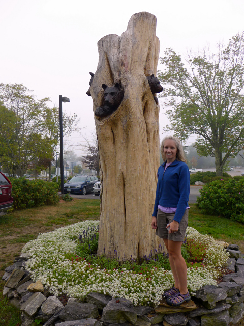 "Goldilocks and the ""Tree"" Bears (L.L. Bean, Freeport, ME)"