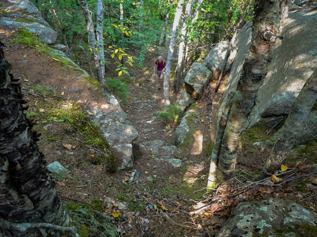 These trails lead to Enoch Mountain.