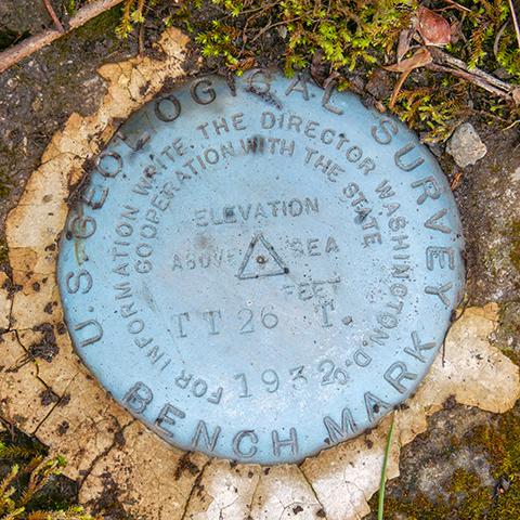 USGS Bench Mark Disk TT 26 T