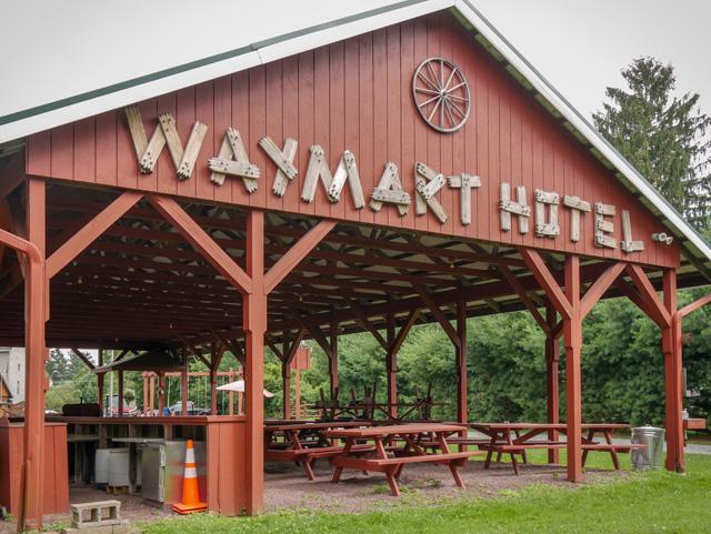 At the Waymart Hotel