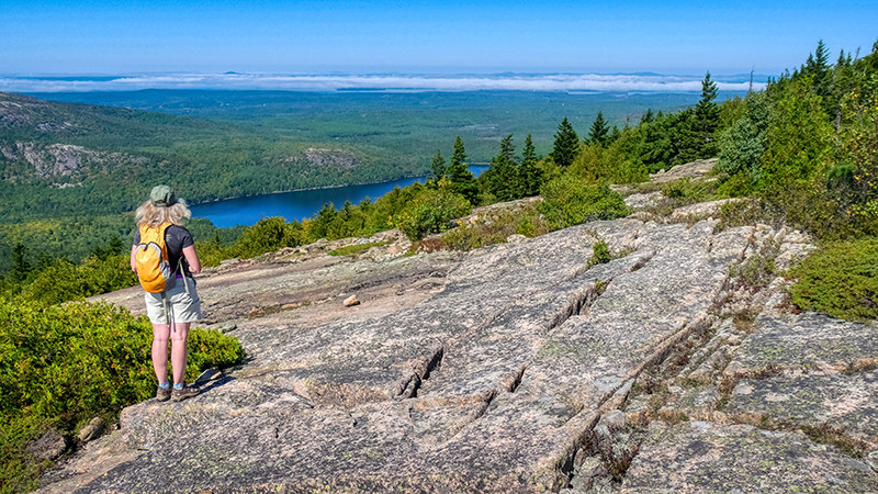 Our mission for this morning began on Cadillac Mountain.